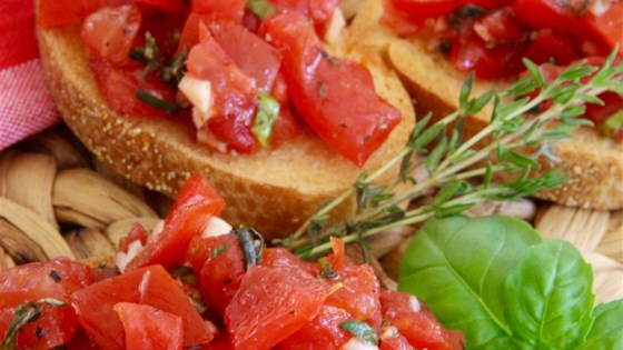 Photo of Summer Savory Bruschetta Topping by Keith Dallmer