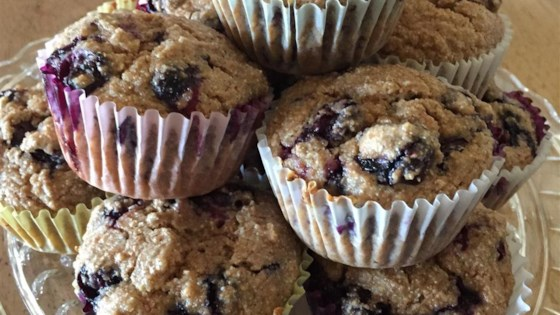 Photo of Jumbo Whole Wheat Blueberry Muffins by LisaAnn
