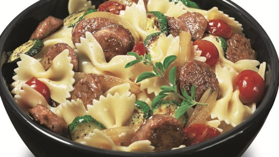 Photo of Bow Tie Pasta by From the Kitchen at Johnsonville Sausage