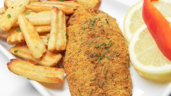 Oven-Fried Orange Roughy