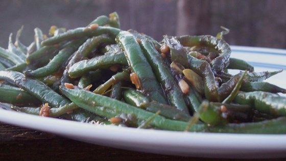 Photo of Sweet and Spicy Green Beans by COOKOFTHEHOUSE