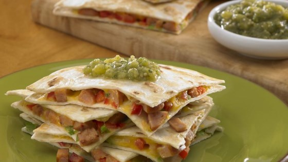 Photo of Johnsonville Chipotle Monterey Jack Cheese Sausage Quesadillas by From the Kitchen at Johnsonville Sausage