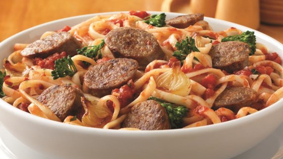 Photo of Zesty Italian Sausage Pasta by From the Kitchen at Johnsonville Sausage