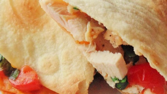 Photo of Chicken, Tomato, and Spinach Quesadillas by Sandy Guillory