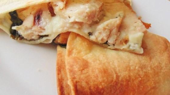 Photo of Chicken Gorgonzola Quesadillas by whereisdiana