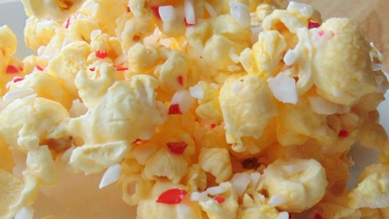 Photo of Holiday White Chocolate Popcorn by awesomeness