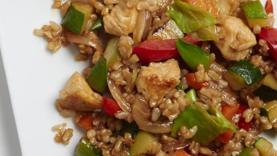 Photo of Veggie-Packed Chicken Fried Rice by ChefBillT