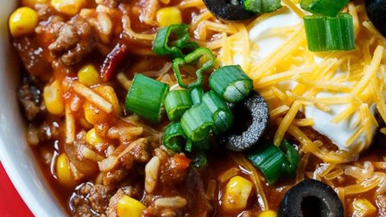 Photo of Chipotle Chili with Rice by Southern Spicy Kitchen