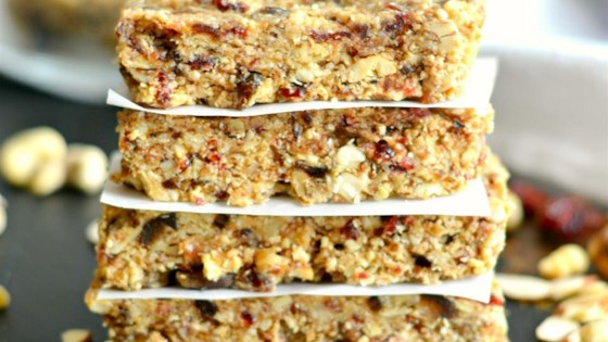 Photo of Grain-Free Date and Nut Bars by Megan Olson