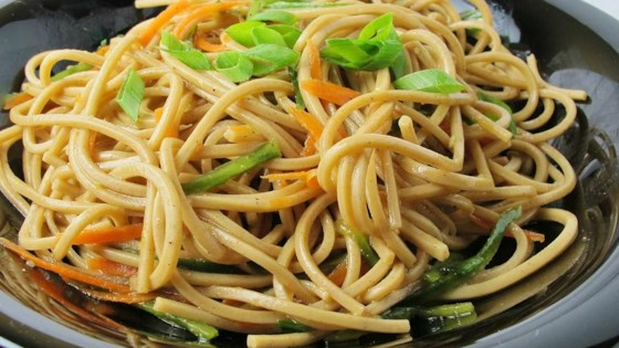 Photo of Oriental Cold Noodle Salad by Christiana Heins