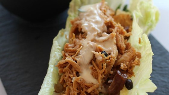 Photo of No-Cook Chicken Lettuce Wraps by Jillian