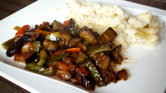 Photo of Hot and Sour Chinese Eggplant by Bonnie