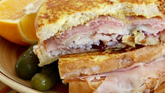 Monte Cristo Sandwich with Bacon Recipe