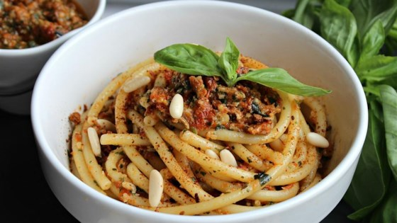 Photo of EZ Red Pesto Sauce by wims recipes