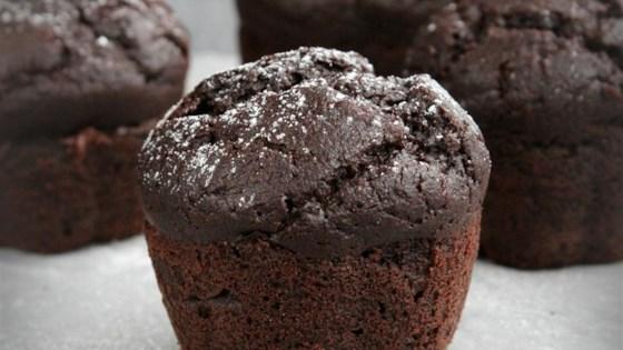 Photo of Gluten-Free Dark Chocolate Cupcakes by gem bee