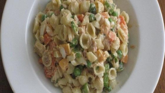 Photo of Pasta Salad with Peas by TinaJ