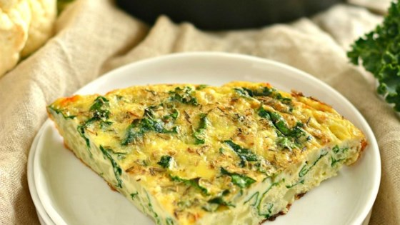 Photo of Cauliflower Kale Frittata by Megan Olson