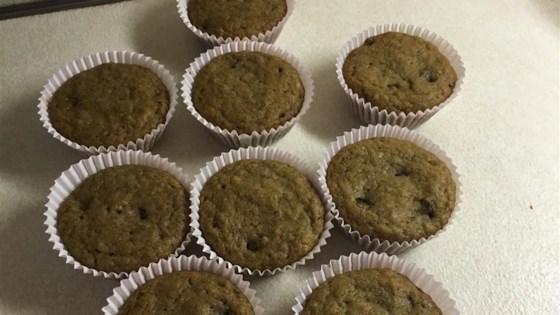 Photo of Banana Almond Chocolate Chip Muffins by SherriM