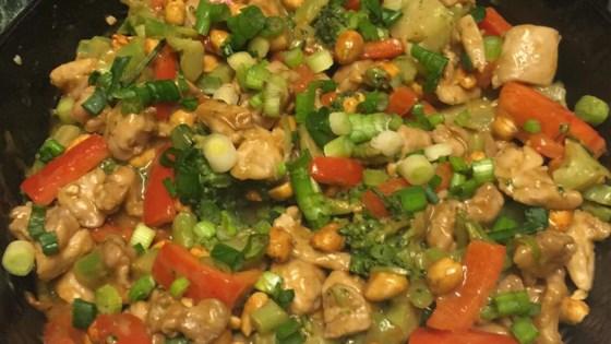 Spicy Peanut Chicken Stir-Fry