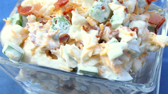 Photo of Cauliflower Salad with Cheddar and Bacon by TAMATHAK