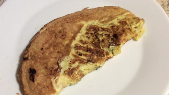 Photo of Portobello Pesto Egg Omelette by Alisan
