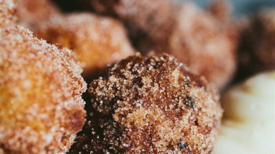 Photo of Carrot Cake Donut Holes with Cream Cheese Dip by Ashley Baron Rodriguez