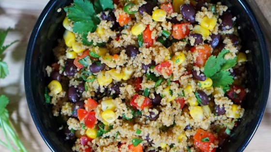 Photo of Black Bean and Couscous Salad by Paula