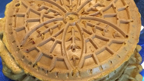Photo of Pumpkin Pizzelle by Lindsay