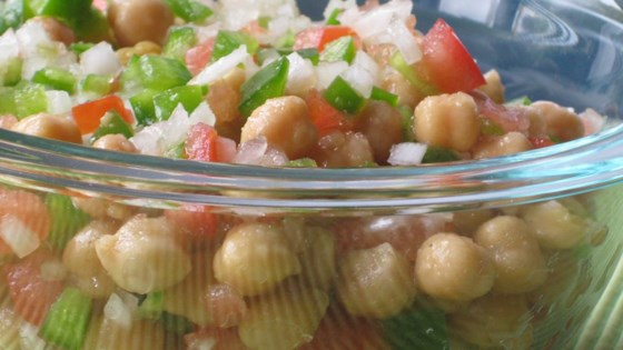 Mediterranean Chickpea Salad II Recipe