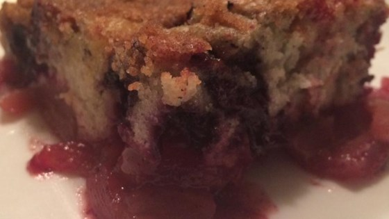Apple-Blueberry Buckle