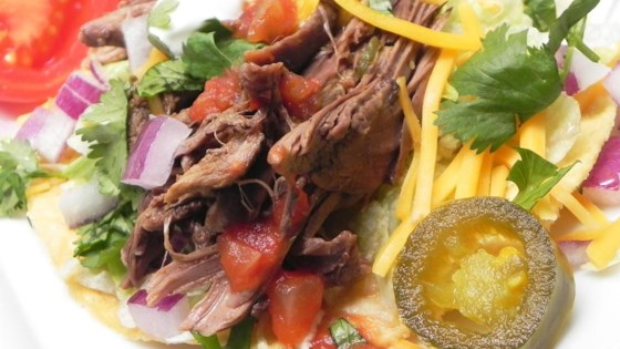 Photo of Slow Cooker Shredded Venison for Tacos by SEEsign