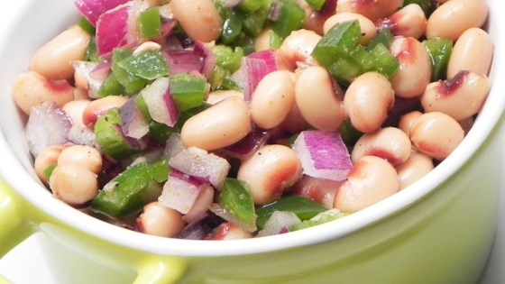 Photo of Simple Black-Eyed Pea Salad by CookBrooke