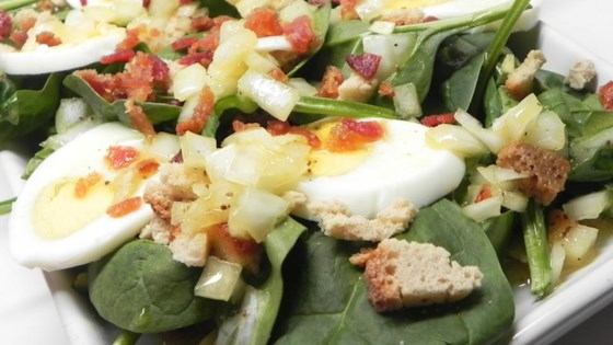 Photo of Tangy Spinach Salad by Bmlove