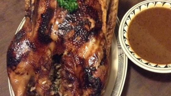 Photo of Roast Goose with Wild Rice Stuffing by Christine L.