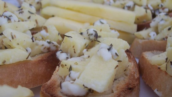 Photo of Apple Goat Cheese Bruschetta by CrdsGrl