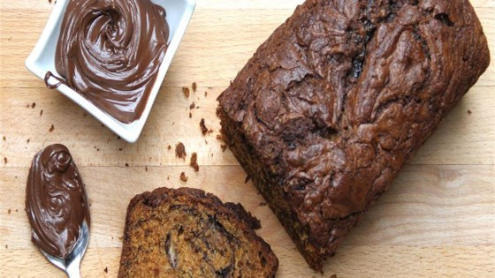 Photo of Nutella® Swirl Banana Bread by Carla Maria