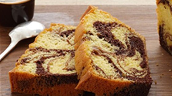 Photo of Fudge Marble Pound Cake by Duncan Hines® Canada