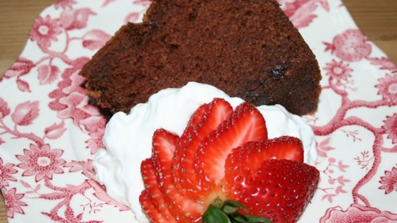 Photo of Richest Ever Chocolate Pound Cake by Carol