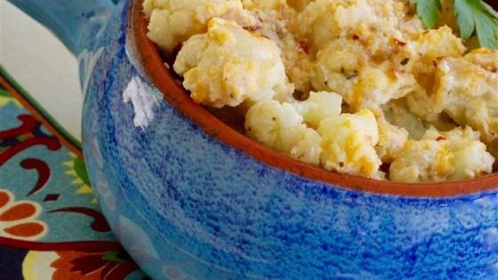 Photo of Classic Cauliflower au Gratin  by janette