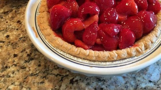 Photo of Strawberry Glazed Pie by Karin Christian
