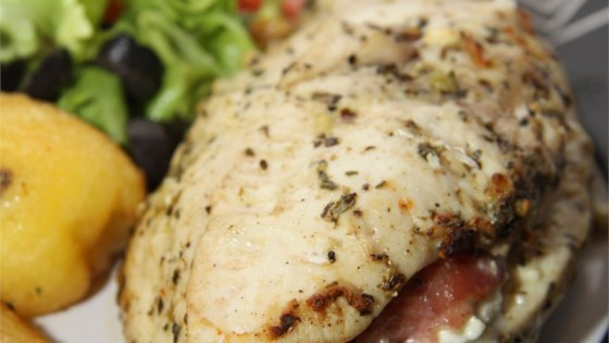 Photo of Feta Cheese and Bacon Stuffed Breasts by GILLIANMCLENNAN