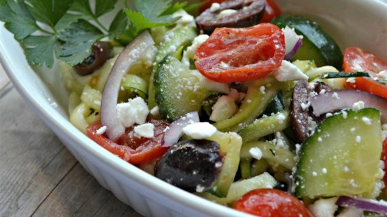 Photo of Greek Zoodle Salad by France C.