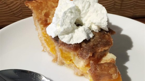 Photo of Easy French Peach Pie  by BugNBear