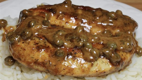 Photo of Chicken Breasts in Caper Cream Sauce by MOMMYTO2BOYS