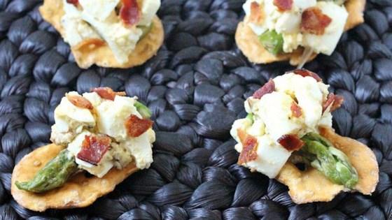 Bacon & Egg Salad Bites