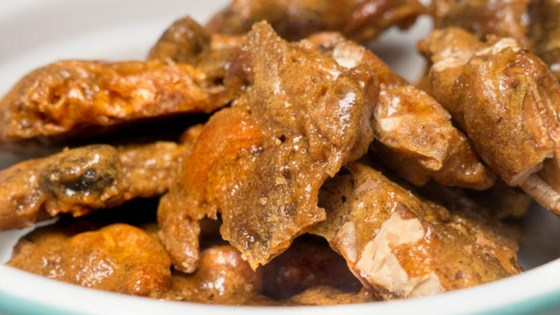 Easy Microwave Cashew Brittle