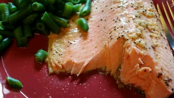 Photo of Steelhead Trout Bake with Dijon Mustard by Nora