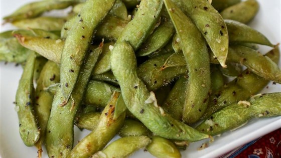 Photo of Simple Roasted Edamame  by My Hot Southern Mess