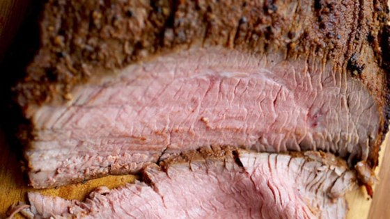 "Photo of Grilled Flank Steak ""Pastrami"" by Chef John"