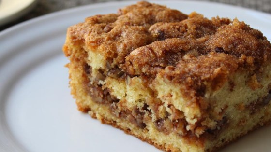 Pecan Sour Cream Coffee Cake Recipe
